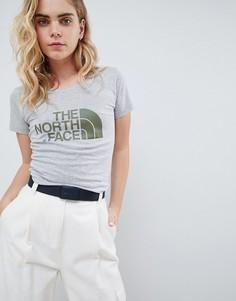 Серая футболка The North Face Womens Easy - Серый