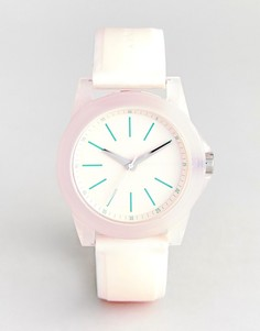 Часы с силиконовым ремешком Armani Exchange AX4361 Banks - Розовый