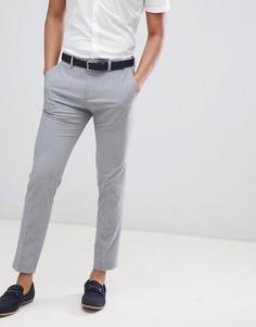 Серые брюки скинни Burton Menswear - Серый