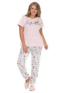 Пижама с брюками MY SIZE