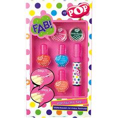 """Игровой набор детской декоративной косметики """"POP"""" для ногтей"""
