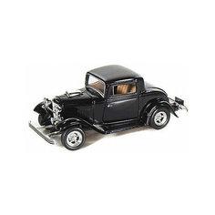 Коллекционная машинка  Autotime Ford Coupe 1932, 1:43, черная