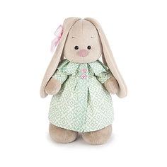 Мягкая игрушка Budi Basa Зайка Ми в бирюзовом пальто, 25 см
