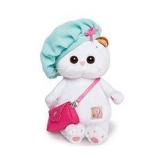 Мягкая игрушка Budi Basa Кошка Ли-Ли Baby с сумочкой в берете, 20 см