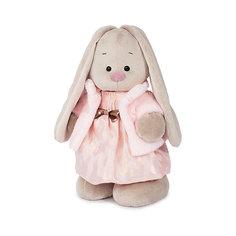 Мягкая игрушка Budi Basa Зайка Ми в платье цвета клубники со сливками, 25 см