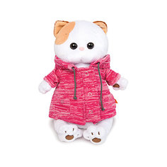 "Мягкая игрушка Budi Basa Кошка Ли-Ли в розовой куртке ""B&Co"", 24 см"