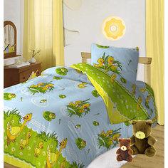 Детское постельное белье 3 предмета Кошки-мышки, Утята