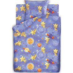 Детское постельное белье 1,5 сп. Кошки-Мышки, Космостар