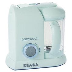 "Блендер-пароварка Beaba ""Babycook Macaron Vanilla"", аквамарин BÉaba"