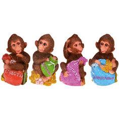 """Статуэтка """"Пушистая обезьянка"""" 6*6*9,5 см Tukzar"""