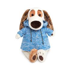 """Мягкая игрушка Budi Basa Бартоломей в голубой куртке """"B&Co"""", 27 см"""