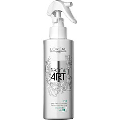 LOREAL PROFESSIONNEL Спрей для укладки волос для объема термомоделирующий фиксирующий TECNI.ART Pli 190 мл