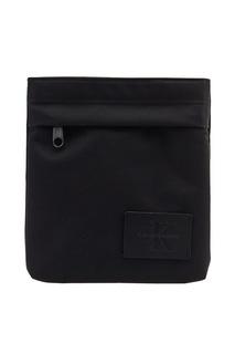 Черная текстильная сумка Calvin Klein