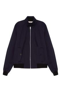 Синяя куртка на молнии Calvin Klein