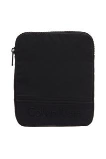 Черная сумка с логотипом Calvin Klein