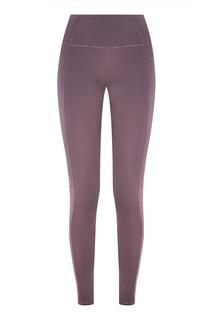 Фиолетовые легинсы с сеткой Sport Angel
