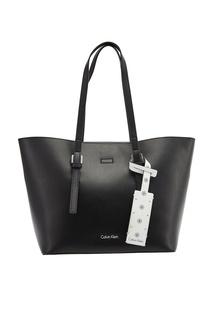 Черная сумка-тоут Calvin Klein