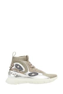Декорированные кроссовки Valentino