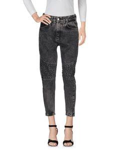 Джинсовые брюки-капри Berna