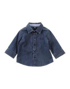 Джинсовая рубашка Amore