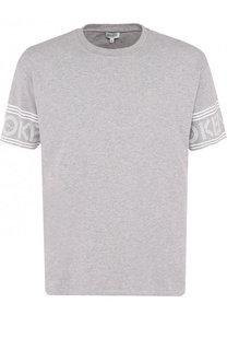 Хлопковая футболка с круглым вырезом Kenzo