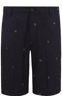 Хлопковые шорты с карманами Kenzo