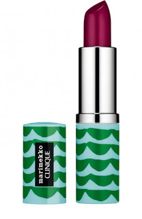Помада для губ Marimekko Pop Lip Colour + Primer, оттенок 24 Raspberry Pop Clinique