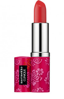 Помада для губ Marimekko Pop Lip Colour + Primer, оттенок 06 Poppy Pop Clinique