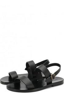 Кожаные сандалии Noe Saint Laurent
