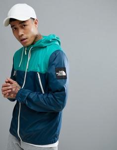 Куртка с капюшоном (синий/зеленый) The North Face 1990 Mountain - Синий