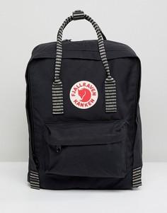 Черный рюкзак Fjallraven Kanken - Черный