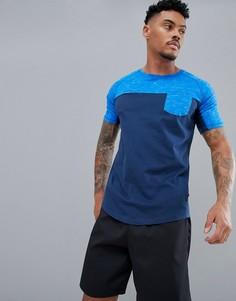 Спортивная футболка в стиле колор блок Dare 2b - Синий
