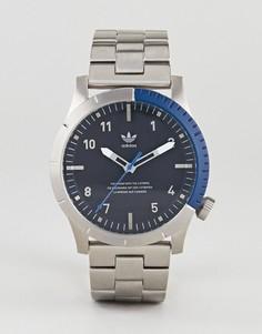 Серебристые часы Adidas Z03 Cypher - Серебряный
