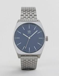 Серебристые часы Adidas Z02 Process - Серебряный