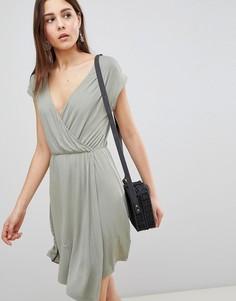 Платье с запахом Brave Soul Crissy - Зеленый