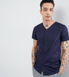 Рубашка скинни Noak - Темно-синий