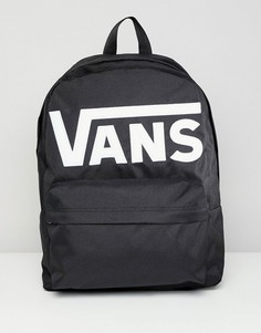 Черный рюкзак Vans Old Skool II V00ONIY28 - Черный