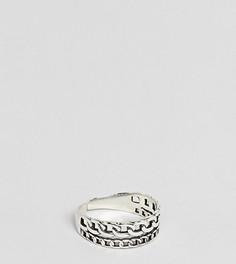 Серебряное кольцо DesignB эксклюзивно для ASOS - Серебряный
