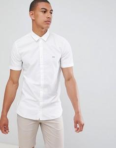 Белая рубашка с короткими рукавами BOSS Mypop_1 - Белый