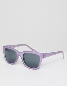 Фиолетовые круглые солнцезащитные очки AJ Morgan - Фиолетовый