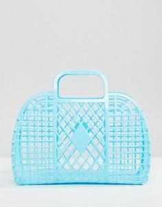 Синяя сумка Monki - Синий