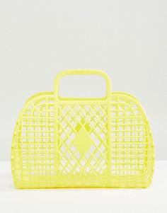 Желтая сумка Monki - Желтый