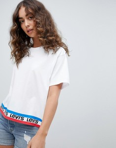 Белая футболка с фирменной лентой Levis - Белый Levis®