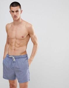 Шорты для плавания в винтажном стиле с полосками The Endless Summer - Серый