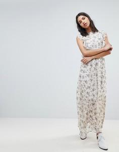 Платье макси с цветочным принтом Sofie Schnoor - Мульти