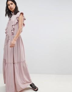 Платье макси Sofie Schnoor - Розовый