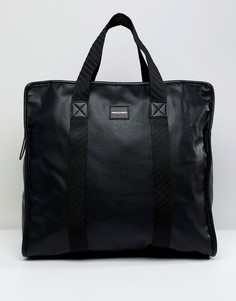 Черная большая сумка-шоппер ASOS DESIGN - Черный