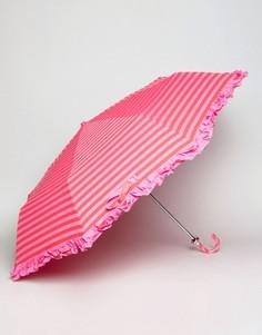 Зонт в полоску Bombay Duck - Розовый