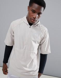 Черная куртка без рукавов Nike Running Flex 891430-215 - Черный