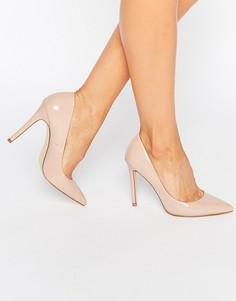 Туфли на каблуке с острым носком Faith Chloe - Бежевый